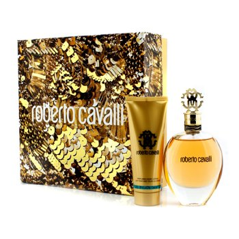 Roberto Cavalli Roberto Cavalli (New) Coffret: Eau De Parfum Spray 75ml/2.5oz + Body Lotion 75ml/2.5oz  2pcs