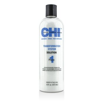 Transformation System Phase 1 - Solution Formula B (For Colored/Chemically Treated Hair) 473ml/16oz