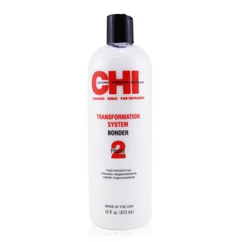 CHI Transformation System Phase 2 - Bonder Formula A (For Resistant/Virgin Hair)  473ml/16oz