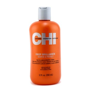 CHI Creme Protetor Deep Brilliance Soothe & Protect Hair & Scalp  350ml/12oz