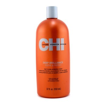 CHI Deep Brilliance Soothe & Protect Hair & Scalp Protective Cream  950ml/32oz