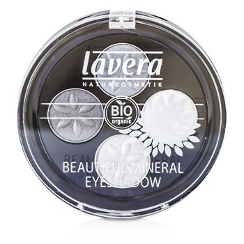 Lavera Beautiful Ορυκτή Τετραπλή Σκιά Ματιών - # 01 Smoky Grey  4x0.8/0.026oz