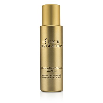 Elixir Des Glaciers Demaquillant Precieux Vos Yeux - Swiss Poly-Active Bi-Phase Eye Make-Up Romover 60ml/2oz