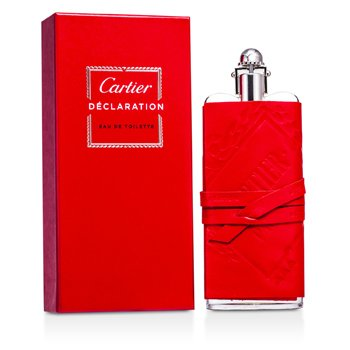 Cartier Declaration Eau De Toilette Spray (Funda de Cuero/Edición Prestige)  100ml/3.3oz