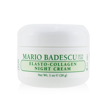 Mario Badescu Elasto-Collagen Night Cream - For Dry/ Sensitive Skin Types  29ml/1oz