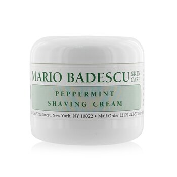 Peppermint Shaving Cream  118ml/4oz