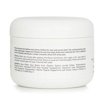 Peppermint Shaving Cream  236ml/8oz