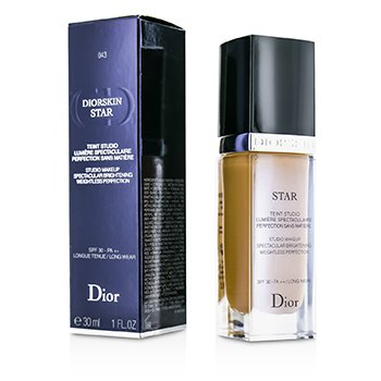 Christian Dior  Base Diorskin Star Studio Makeup SPF30 - # 43 Cinnamon  30ml/1oz
