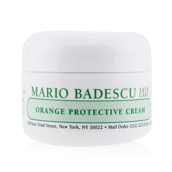 Mario Badescu Orange Protective Cream - For Combination/ Dry/ Sensitive Skin Types  29ml/1oz