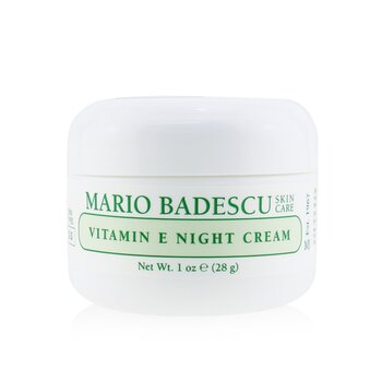 Vitamin E Night Cream - For Dry/ Sensitive Skin Types  29ml/1oz