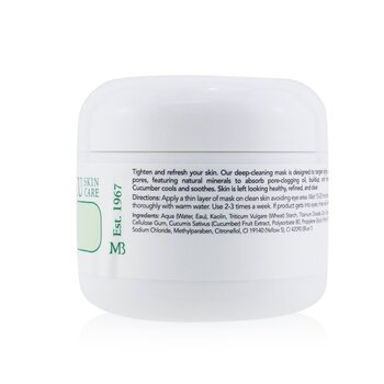 Cucumber Tonic Mask  - For Combination/ Oily/ Sensitive Skin Types  59ml/2oz