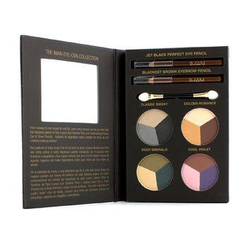 Iman Kolekce Eye Con Collection (1x tužka na oči, 1x tužka na obočí, 4x trio oční stíny, 1x aplikátor)