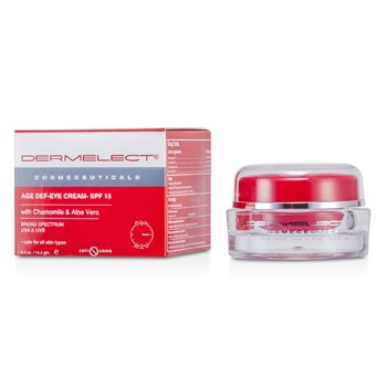 Dermelect Age Def-Eye Cream SPF 15  14.2g/0.5oz