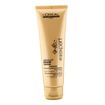 L'Oreal Professionnel Expert Serie - Creme Leave-In Absolut Repair Lipidium Reconstructing and Protecting Blow-Dry  125ml/4.2oz