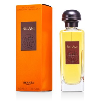 Bel Ami Eau De Toilette Spray (New Packaging) 100ml/3.3oz