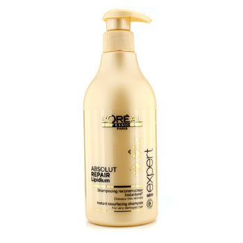 L'Oreal Professionnel Expert Serie - Absolut Repair Lipidium Instant Resurfacing Champú (Para Cabello Muy Dañado)  500ml/16.9oz