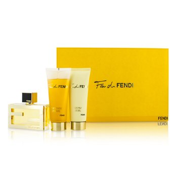 Fendi Fan Di Fendi Kofre: Eau De Parfüm Sprey 50ml/1.7oz + Vücut Losyonu 75ml/2.5oz + Duş Jeli  75ml/2.5oz  3pcs