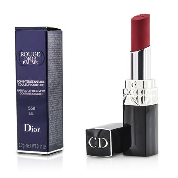 Christian Dior Rouge Dior Baume Natural Lip Treatment Couture Colour - # 558 Lili  3.2g/0.11oz