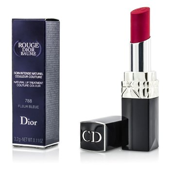 Christian Dior Rouge Dior Baume Natural Lip Treatment Couture Colour - # 788 Fleur Bleue  3.2g/0.11oz