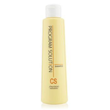 Shiseido Šampon CS pro barvené a ionizované narovnávané vlasy Program Solution Shampoo CS (For Colored & Ionized Straightening Hair)  200ml/6.7oz