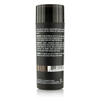 Hair Building Fibers - # Medium Brown  27.5g/0.97oz