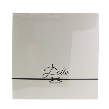Dolce Coffret: Eau De Parfum Spray 75ml/2.5oz + Loción Corporal 100ml/3.3oz + Gel de Ducha 100ml/3.3oz  3pcs