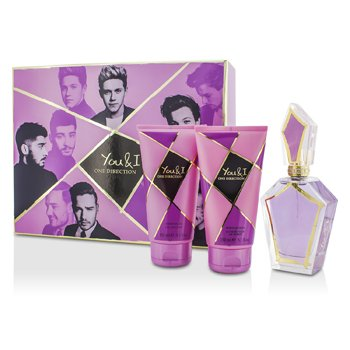 One Direction You & I Coffret: Eau De Parfum Spray 100ml/3.4oz + Loción Corporal 150ml/5.1oz + Gel de Ducha 150ml/5.1oz  3pcs