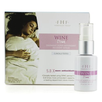 Wine Down Overnight Super Antioxidant Recovery Serum  29ml/1oz