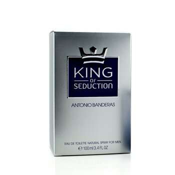 King Of Seduction Eau De Toilette Spray 100ml/3.4oz