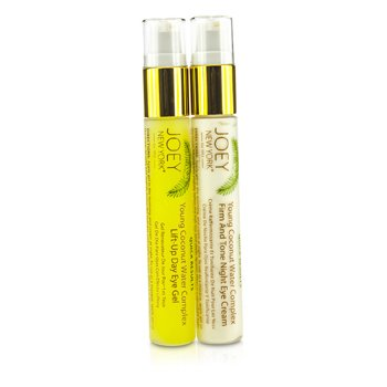 Quick Results Young Coconut Water Complex Gel and Night Cream Eye Duo  2x14g/0.5oz