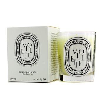 Świeca zapachowa Scented Candle - Violette (fiołki)  190g/6.5oz