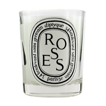 Scented Candle - Roses  190g/6.5oz