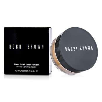 Bobbi Brown Sheer Finish Loose Powder - # 04 Basic Brown (New Packaging)  6g/0.21oz