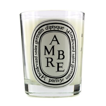 Scented Candle - Ambre (Amber)  190g/6.5oz