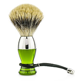 Short Brushes Nickel Pastic Handle - # Green  1pc