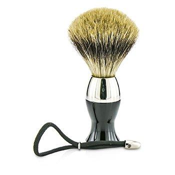 Short Brushes Nickel Pastic Handle - # Black  1pc