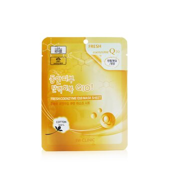 Mask Sheet - Fresh Coenzyme Q10  10pcs