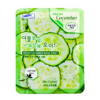 Mask Sheet - Fresh Cucumber  10pcs