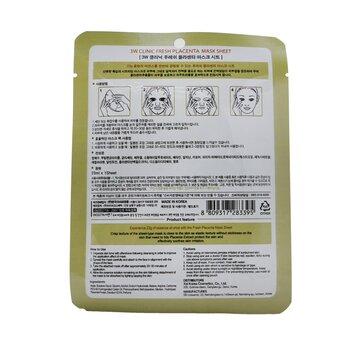 Mask Sheet - Fresh Placenta  10pcs