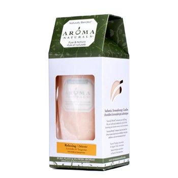 Aroma Naturals Świeca zapachowa Authentic Aromatherapy Candles - Relaxing (Lawenda i Mandarynka)  (2.75x5) inch