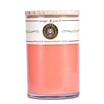 Terra Essential Scents Massage & Aromatherapy Candle - Mango & Peach  12oz