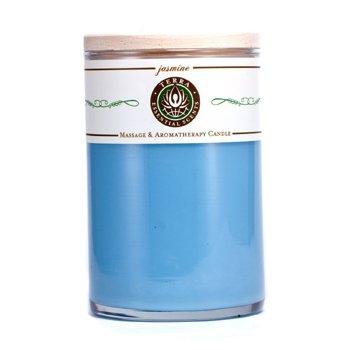 Terra Essential Scents Massage & Aromatherapy Candle - Jasmine  12oz