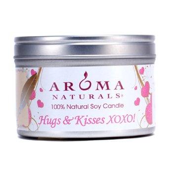 Aroma Naturals 100% Lumânare Naturală din Soia - Hugs & Kisses XOXO!  6.5oz
