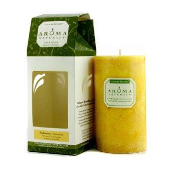 Aroma Naturals Authentic Aromatherapy  Lumânări - Ambiance (Portocală şi Iarbă de Lămâie)  (2.75x5) inch