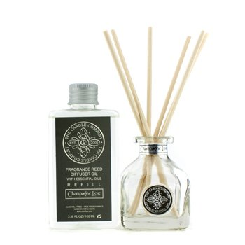Reed Diffuser with Essential Oils - Champagne Rose  100ml/3.38oz
