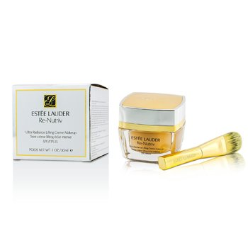 Estee Lauder ReNutriv Ultra Radiance Lifting Creme Makeup SPF15 - # Shell Beige (4N1)  30ml/0.1oz