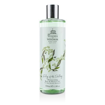 Woods Of Windsor Lily Of The Valley Moisturising Bath & Shower Gel  350ml/11.8oz
