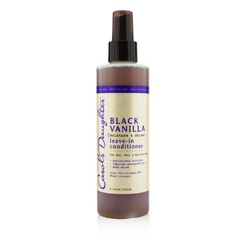 Black Vanilla Moisture & Shine Leave-In Conditioner (For Dry, Dull & Brittle Hair)  236ml/8oz