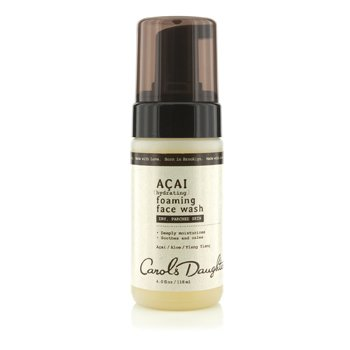 Carol's Daughter Acai Hydrating Foaming Face Wash (For Dry, Parched Skin)  118ml/4oz