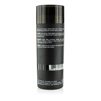 Hair Building Fibers - # Svart  55g/1.94oz